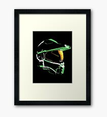 Halo: Master Chief Profile Framed Print
