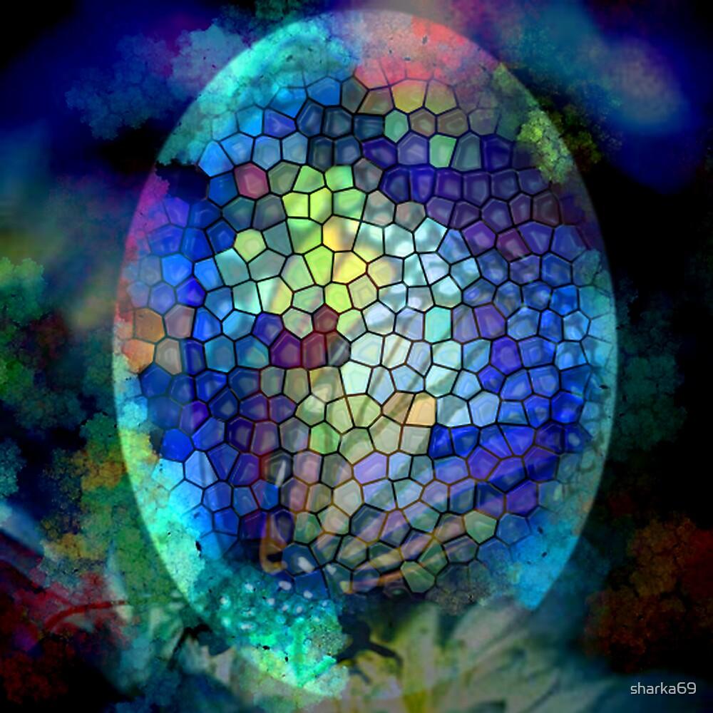 Coloured Egg by sharka69