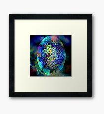 Coloured Egg Framed Print