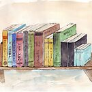 What's on my bookshelf by Maree Clarkson