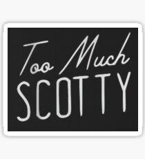 David Dobrik Too Much Scotty Sticker