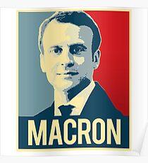 Macron Propaganda Poster Poster