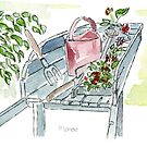 You just gotta love garden tools! by Maree Clarkson