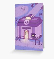 Pokemon Centre (Night) Greeting Card
