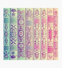 Pattern Books Photographic Print