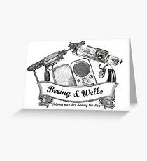 Bering & Wells Greeting Card