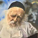 « Rav Kanievsky » par Daphne-portrait
