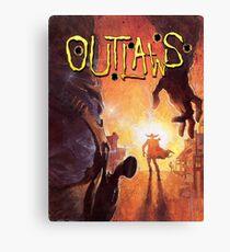Outlaws Canvas Print