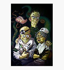 Maniac Mansion Creepy Photographic Print