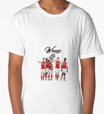 Arsenal - FA Cup Winners 2017 Long T-Shirt