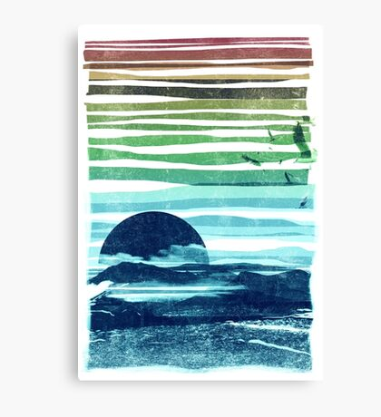 sea landscape Canvas Print