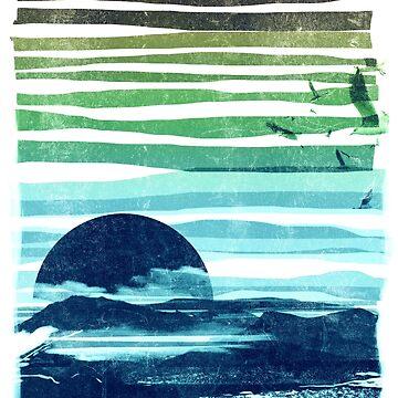 sea landscape by fredlevy-hadida