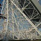 Lovell Telescope at Jodrell Bank 11 by bubblebat