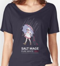 Pure White Salt Mage Women's Relaxed Fit T-Shirt