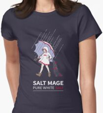 Pure White Salt Mage Women's Fitted T-Shirt