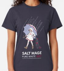 Pure White Salt Mage Classic T-Shirt