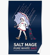 Pure White Salt Mage Poster
