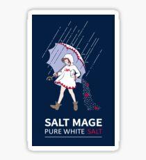 Pure White Salt Mage Sticker