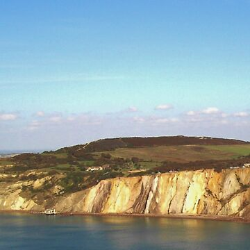 Cliffs At Alum Bay, IOW by lezvee