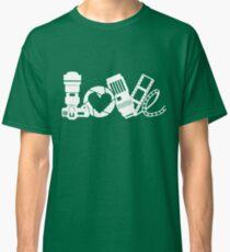 love photo frames Shoot camera with friend t-shirt Classic T-Shirt