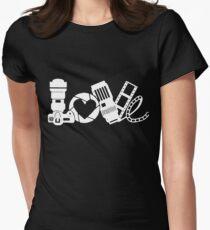 love photo frames Shoot camera with friend t-shirt T-Shirt