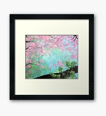 A tranquil place Framed Print