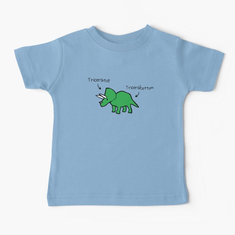 Triceratops Tricerabottom Baby T-Shirt