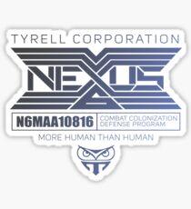 Tyrell Corp Nexus - Blade Runner Sticker