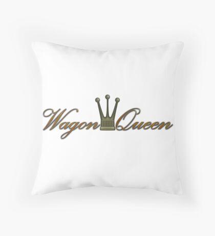 Wagon Queen Throw Pillow