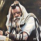 « Rabbi de Loubavitch » par Daphne-portrait