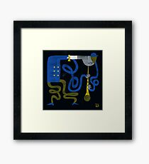 The Grooving Clarinet Framed Print