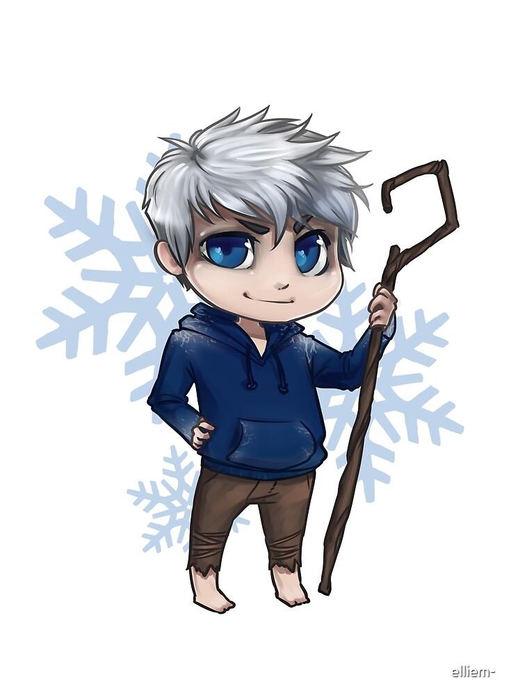 Chibi Jack Frost by elliem-