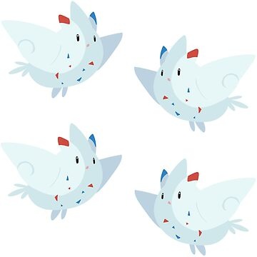 Togekiss Stickers by pixielog