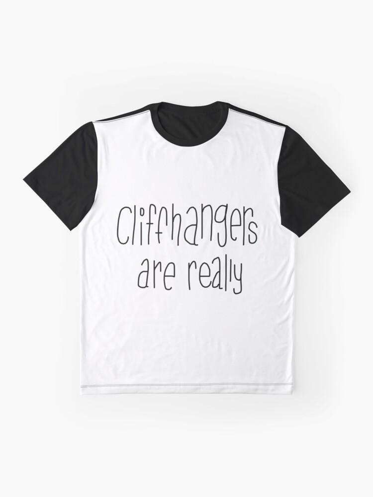 Vista alternativa de Camiseta gráfica Acantilados