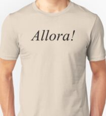 Allora! - Master of None T-Shirt