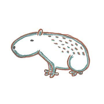 Capybara by m-lapino