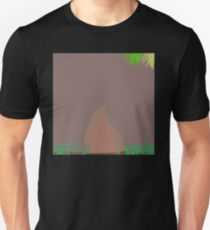 0124 Water stained walled garden T-Shirt