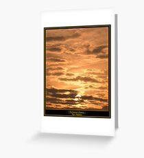 A Kissimmee Sunrise Greeting Card