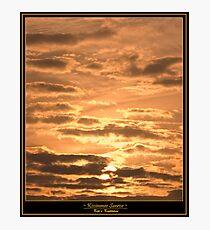 A Kissimmee Sunrise Photographic Print