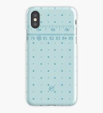 The Measuring Tape iPhone Case/Skin