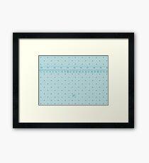 The Measuring Tape Framed Print