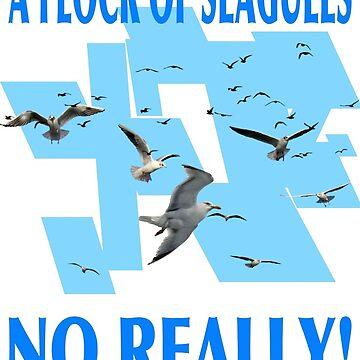 A Flock Of Seagulls. No Really by Billyflynn