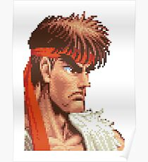 Super Street Fighter II - Ryu Poster