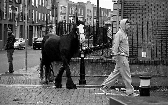 Clanbrassil Street, Dublin by Esther  Moliné