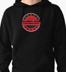 Queeg 500 For President Pullover Hoodie