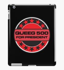 Queeg 500 For President iPad Case/Skin
