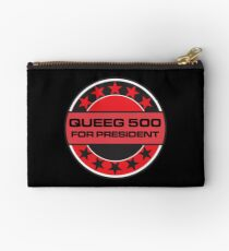 Queeg 500 For President Studio Pouch