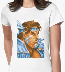 Super Street Fighter II - T.Hawk Womens Fitted T-Shirt