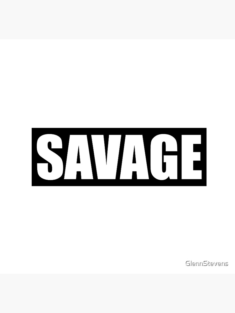 Savage Black by GlennStevens