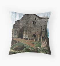 A day in the life, In deep thought Throw Pillow